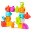 Molto: Play &, Sense baba fejlesztő építőcsomag 17db-os szett