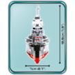 COBI 4823 - WW II Nagy Német Cruier Prinz Eugen