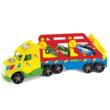 Magic Truck Basic autószállító színes kamion 79 cm – Wader