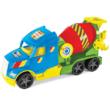 Magic Truck: Betonkeverő kocsi fluoreszkáló lámpákkal 60 cm – Wader