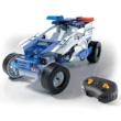 Science & Play: Mechanikus Labor Távirányítós Rendőrautó 2 az 1-ben építőjáték – Clementoni