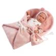 Llorens: Lala újszülött síró lány baba 42cm-es