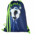 Spirit: Football Goal, 3D mintás, LED-es iskolatáska, hátizsák 5db-os szett