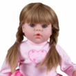 PlayTo: Magyarul beszélő és éneklő baba Tina 46 cm