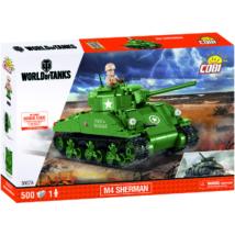 COBI 3007A - World of Tanks Sherman M4