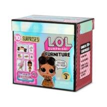 LOL Suprise Furniture S3 School Office játékszett, babával és bútorokkal - Iskola titkárság