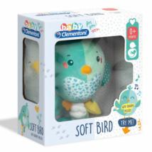 Baby madaras zenélő plüss – Clementoni