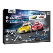 Darda: DTM Turbo Fighter 4 az 1-ben pályaszett Mercedes és Audi hátrahúzható pályaautóval