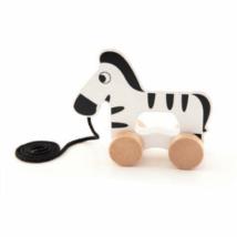 Fa húzható készségfejlesztő zebra – Trefl