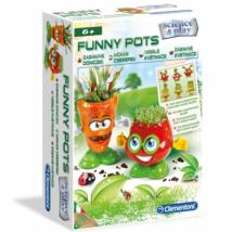 Clementoni: Mókás cserepek játékszett