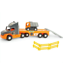 Super Tech Truck kamion dömperrel 78cm - Wader