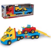 Super Truck homlokrakodó munkagéppel – Wader