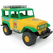 Color Cars zöld-sárga terepjáró autó 38cm - Wader