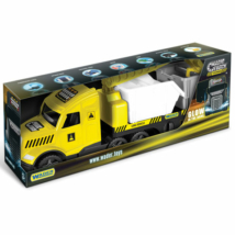 Magic Truck Technic: Kamion konténerrel és fénnyel 80 cm – Wader