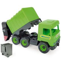 Middle Truck: Kukás autó 43 cm zöld – Wader