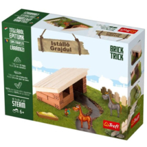Brick Trick Téglából építünk: Istálló építőjáték – Trefl