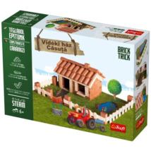 Brick Trick Téglából építünk: Vidéki ház építőjáték – Trefl