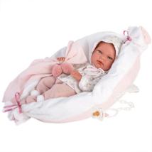 Llorens: Nica 40 cm-es kislány baba párnával