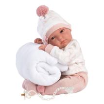 Llorens: Bimba 35cm-es kislány baba takaróval