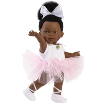 Llorens: Zoé 28cm-es baba balettruhában