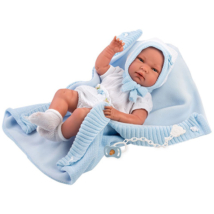 Llorens: Nico 40cm-es fiú baba takaróval