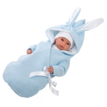Llorens: újszülött síró fiú baba pólyában