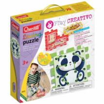 Quercetti: Play Creativo Állatos fűzős puzzle