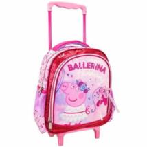 Peppa malac Ballerina gurulós ovis hátizsák 27x10x31cm