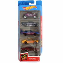 Hot Wheels: HW Flames kisautó 5db-os csomag