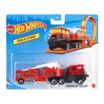 Hot Wheels: Firehouse Fueler szállítóautó 1/64