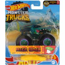 Hot Wheels - Monster Trucks: Mega-Wrex járgány roncsautóval 1/64