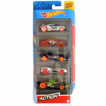 Hot Wheels: Action kisautó 5db-os csomag