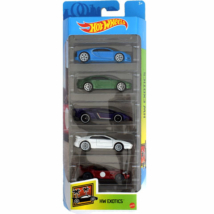 Hot Wheels: HW Exotics kisautó 5db-os csomag