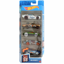 Hot Wheels: Sports kisautó 5db-os csomag
