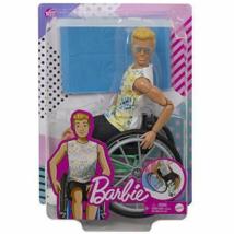 Barbie: Ken kerekesszékes baba