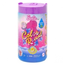 Barbie Color Reveal: Chelsea Csillámvarázs baba meglepetés csomag