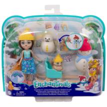 Enchantimals: Hóemberes móka játékszett