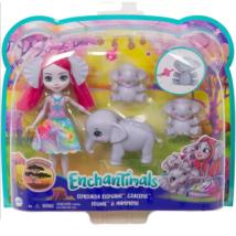 Enchantimals: Esmeralda Elephant és elefántjai játékszett