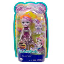 Enchantimals: Zadie Zebra &, Ref figura szett