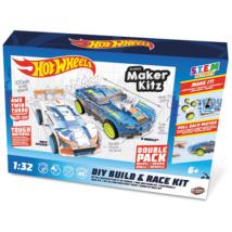 Hot Wheels Kitz Twin Pack összeépíthető, hátrahúzós kisautók 1/32