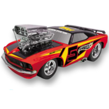 Hot Wheells Turbo Tuning Classic Monster hátrahúzós kisautó 28 cm