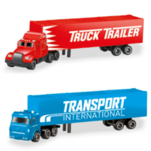 Konténeres kamion kisautó 1/72 kétféle változatban