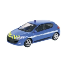 Gendermarie Renault Megane fém autómodell 1/43