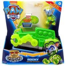 Mancs őrjárat Mighty Pups Charged Up járművek – Rocky