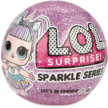 LOL Surprise sparkle series- a legcsillogóbb LOL babák