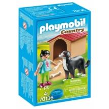Playmobil 70136 - Házőrző kutyaházzal