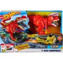 Hot Wheels T-Rex rampage pálya készlet