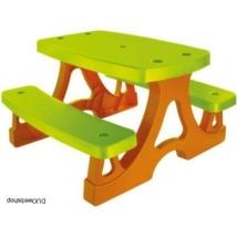 Gyerek kerti bútor - Asztal paddal