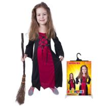 Boszorkány jelmez hosszú méret: M