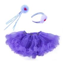 TÜTÜ szoknya lila kiegészítővel
